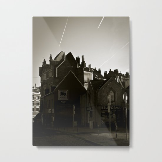 City Chimera Metal Print