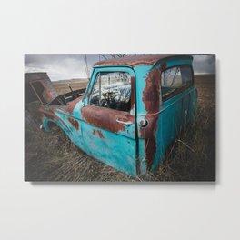 Car Graveyard 6 Metal Print