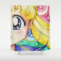 soldier Shower Curtains featuring Pretty Soldier by Cerulean Blues