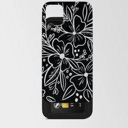 Chalk Florals iPhone Card Case