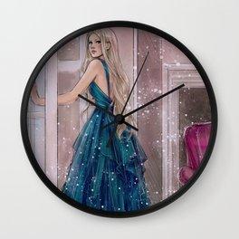 Chloé - Blue Wall Clock
