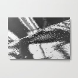 Wet surface Metal Print