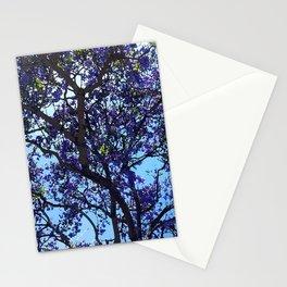 Jacaranda in Spring Stationery Cards