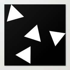 Simple Triangles Canvas Print