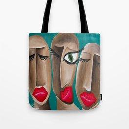 Eye Bird Lipstick  Tote Bag