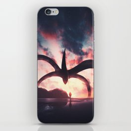The lost child iPhone Skin