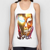 iron man Tank Tops featuring Iron Man by Isaak_Rodriguez