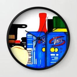 Fizz Wall Clock