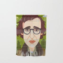 Woody Allen Wall Hanging