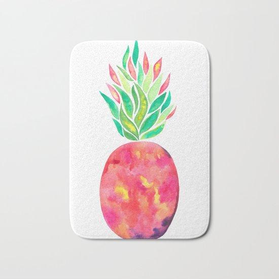 Pineapple Flare Bath Mat