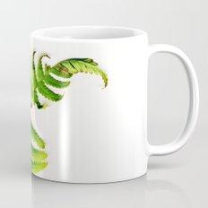 Fern on white Coffee Mug