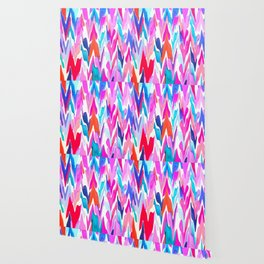 Lacquered Love Wallpaper