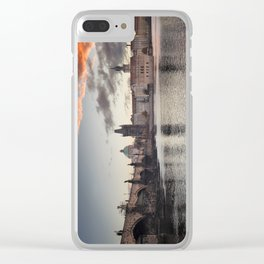Prague Towers Clear iPhone Case