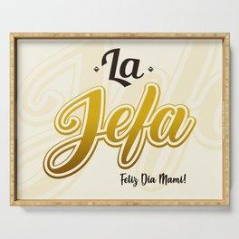 La Jefa Serving Tray