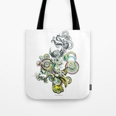 bouquet 2 Tote Bag