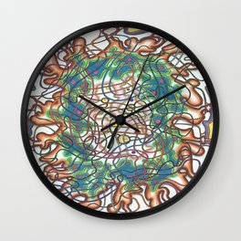 Enigma Wall Clock