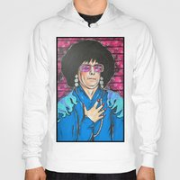 snl Hoodies featuring SNL Mike Meyers as Linda Richman by Portraits on the Periphery