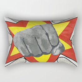 Super Awesome Fist Bumping! Rectangular Pillow