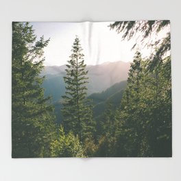 Forest XV Throw Blanket