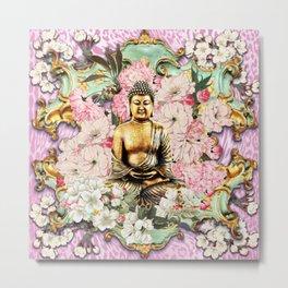 Tranquil Buddha Metal Print