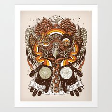 Dreams of a Feather Art Print