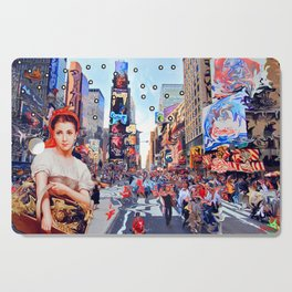 Shopping in New York Cutting Board