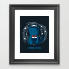 Geronimeow Framed Art Print
