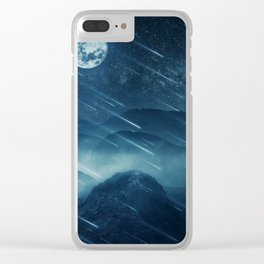 misty valley Clear iPhone Case