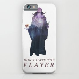 Mind Flayer (Typography) iPhone Case