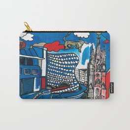 A depiction of Birmingham, UK Carry-All Pouch