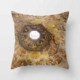 Brunelleschi Cupola, Florence Duomo Throw Pillow