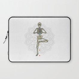 Yoga skeleton Best Gift Laptop Sleeve