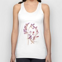 botanical Tank Tops featuring Botanical 1 by JoanAHamilton