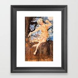 Autumnal Nocturne Framed Art Print