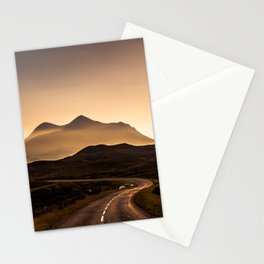 Sunset Mountain Road Stationery Cards