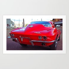 Corvette cool Art Print