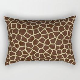 Giraffe Print Pattern Rectangular Pillow