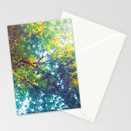 alley monks Stationery Cards
