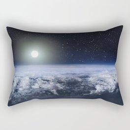 Until the end of time Rectangular Pillow