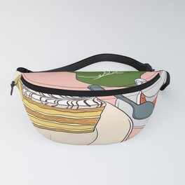 Aftenoon Cake Treat Fanny Pack