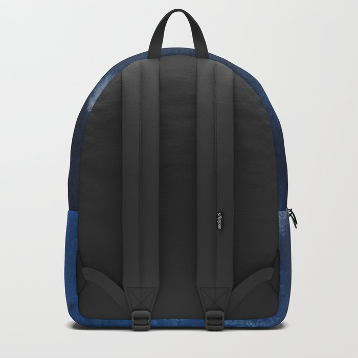 Watercolor Blue Backpack