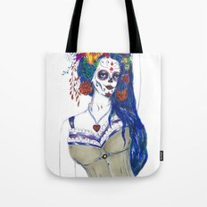 Scull Candy Lady Tote Bag