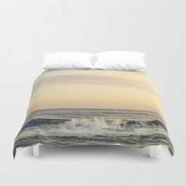at the sea Duvet Cover