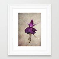 ballerina Framed Art Prints featuring ballerina by lucyliu