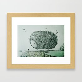 The Companion Framed Art Print