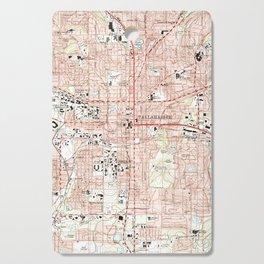Tallahassee Florida Map (1999) Cutting Board