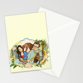 Happy Anniversary Stationery Cards