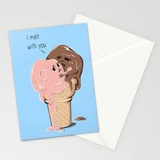 I Melt With You Stationery Cards
