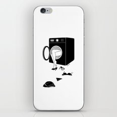 Washing Bad Memories iPhone & iPod Skin