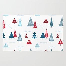 Christmas Forest Rug
